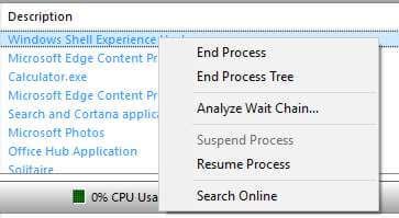 analyze wait chain