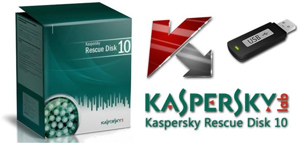 kaspersky rescue disk 10 - box