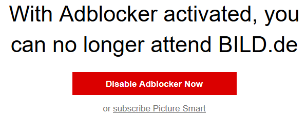 bild.de-ad-blocker message