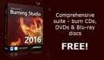 Ashampoo Burning Studio 2016 Now Available for FREE