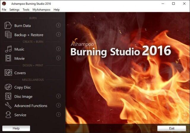 abs 2016 - main interface