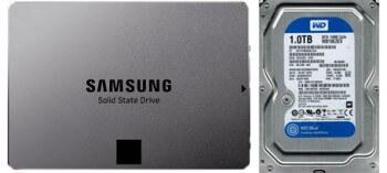 dual hard drives