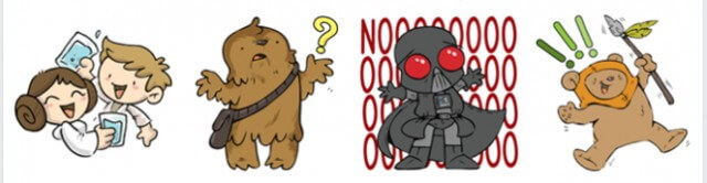 The Force Is Strong With this One Facebook Star Wars Stickers Pic5