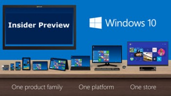 Windows 10-insider preview