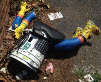 hitchbot dismembered