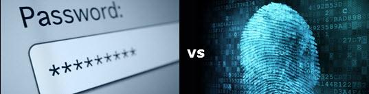 password vs biometrics