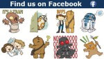 The Force Is Strong With This One: Facebook Star Wars Stickers