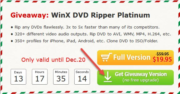Digiarty Giveaway: WinX DVD Ripper Platinum | Daves Computer