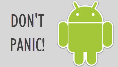 don't panic android2