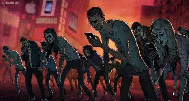 texting dead