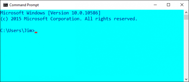 command prompt-custom