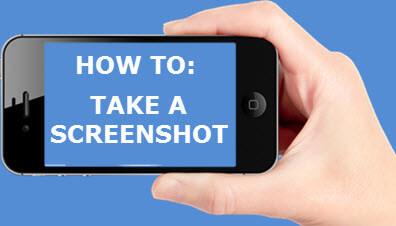 take a screenshot-feature