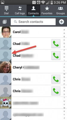 Adding Pictures To Your Android Contacts pic 7