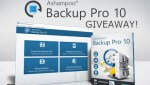 DCT Giveaway: Ashampoo Backup Pro 10