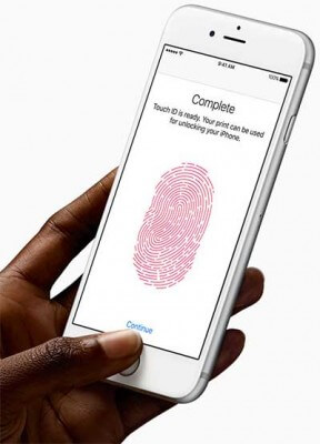iphone fingerprint reader security