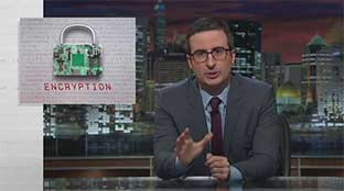 John Oliver explains encryption