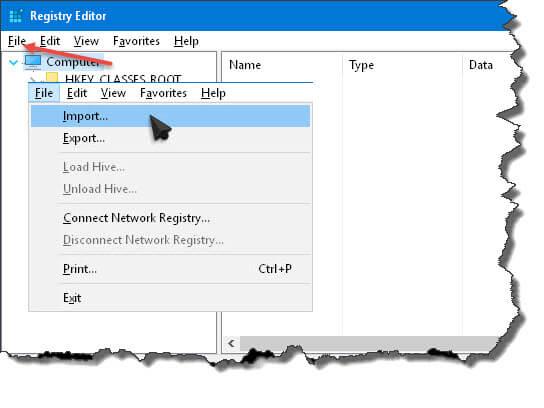 add-windows-defender-registry-editor
