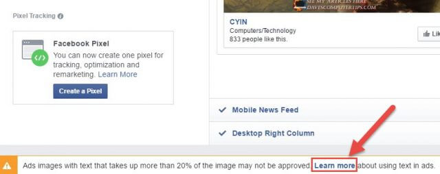 Facebook 20 Percent Rule How to Check pic 10