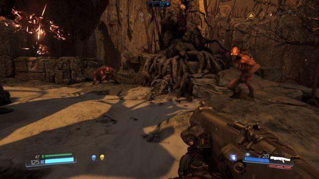 doom-imps-fight