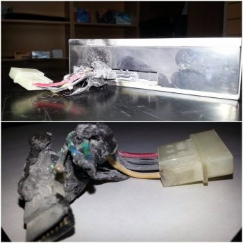 dvd-molex-burned