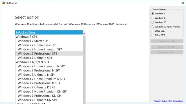 windows iso downloader-choose edition2