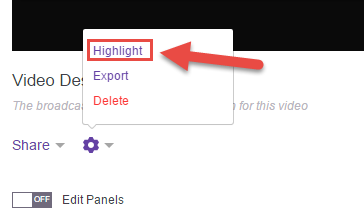 How to Create a Highlights Video On Twitch Pic 8