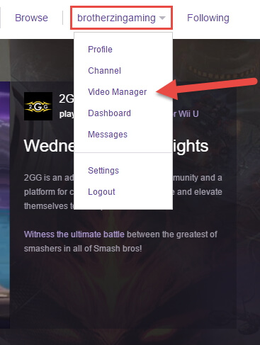 twitch-video-manager