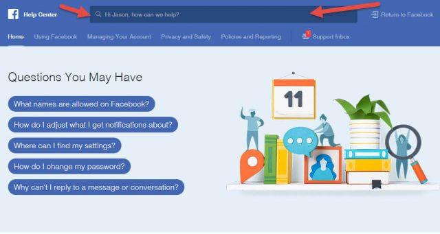 facebook-help-center