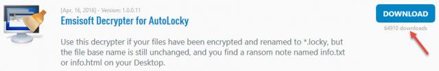 emsisift decrypter tools