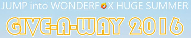 wonderfox-summer giveaway-banner
