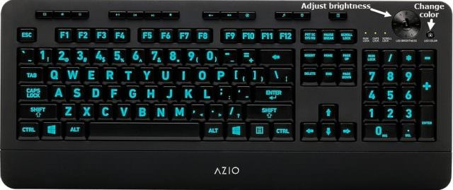 AZIO KB506 keyboard