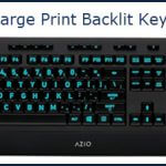 AZIO Large Print Backlit Keyboard Review