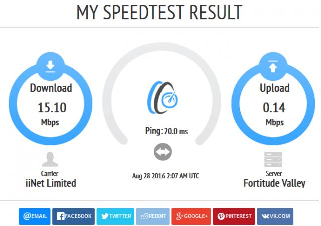 speed test-my speedtest