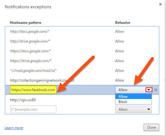 notifications-exceptions-menu