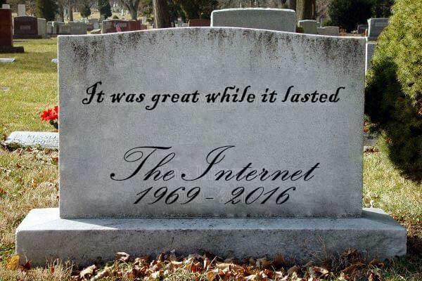death of the internet