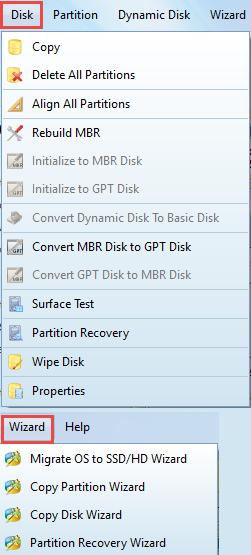 minitool-disk-menu