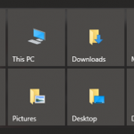 How To Pin Folders, Quick Launch To Taskbar