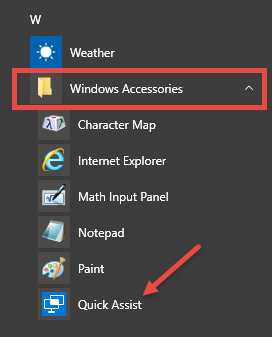 windiows-accessories-quick-assist