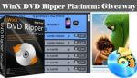Digiarty Giveaway: WinX DVD Ripper Platinum