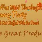 WonderFox Mega Thanksgiving Giveaway