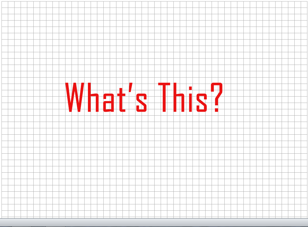 Excel Grid Lines  Graph Paper Word