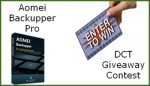 Aomei Backupper Pro Giveaway Contest