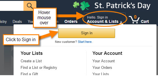 how to delete amazon account history