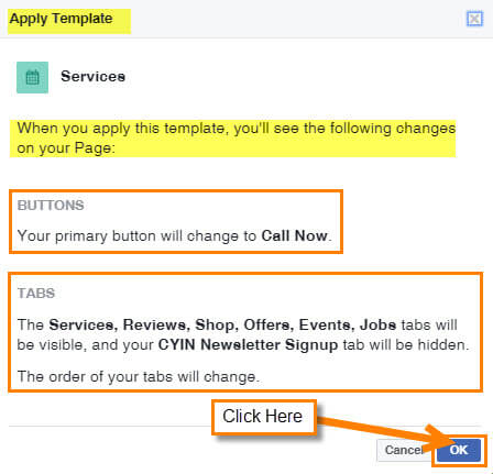 how to change facebook business page url 2017