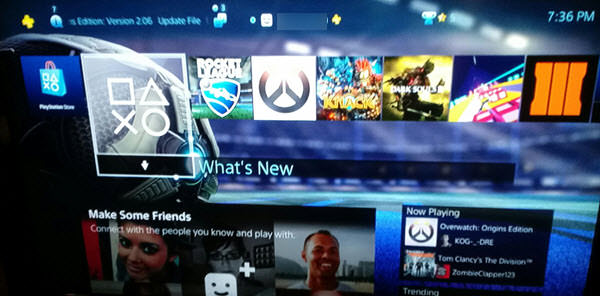 ps4 how to change username