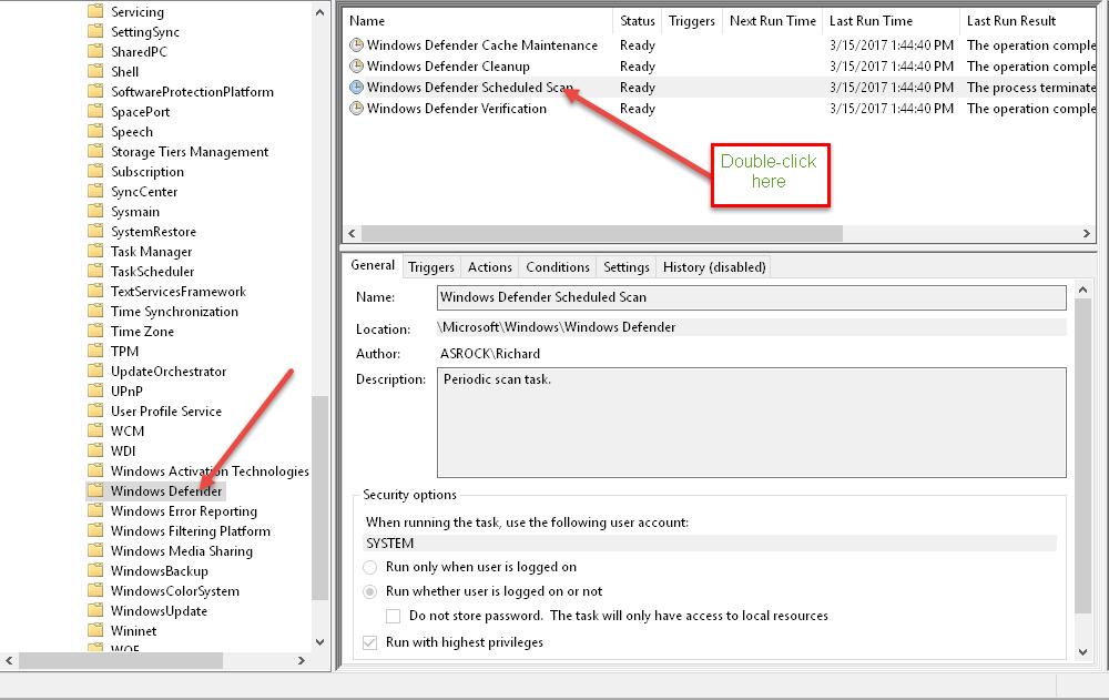 Windows 10 Quick Tips – Schedule Defender | Daves Computer Tips