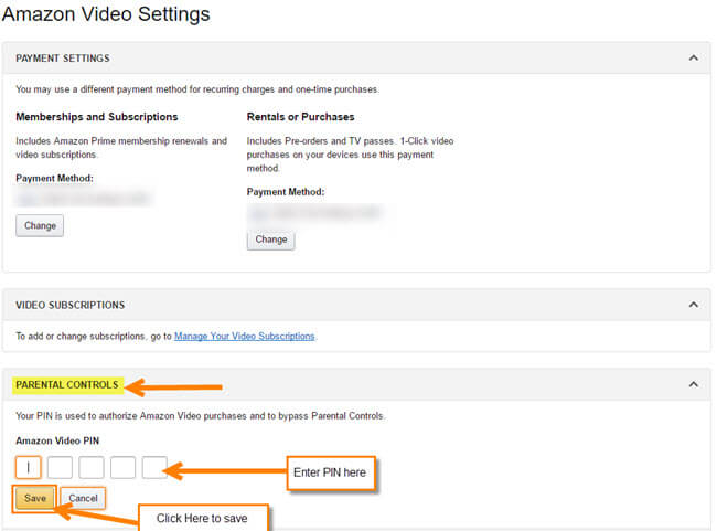 How To Set Up, Change Your Amazon Video PIN | Daves Computer