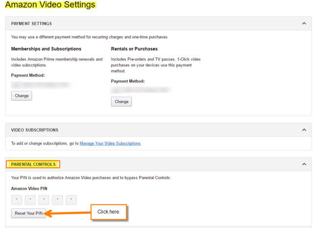 How To Set Up, Change Your Amazon Video PIN   Daves Computer