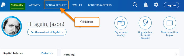 how to add invoice to paypal account