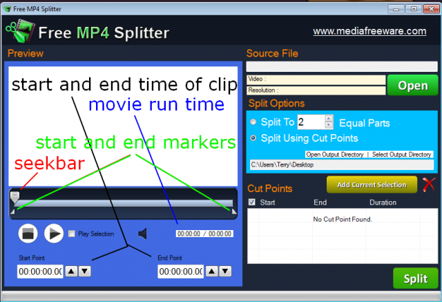 open-file-free-mp4-splitter